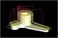4. 最新ソフト導入の三次元図面のイメージ